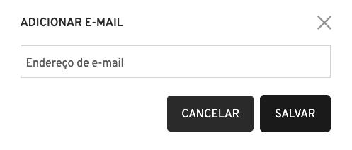 Editar e-mail - Passo 2