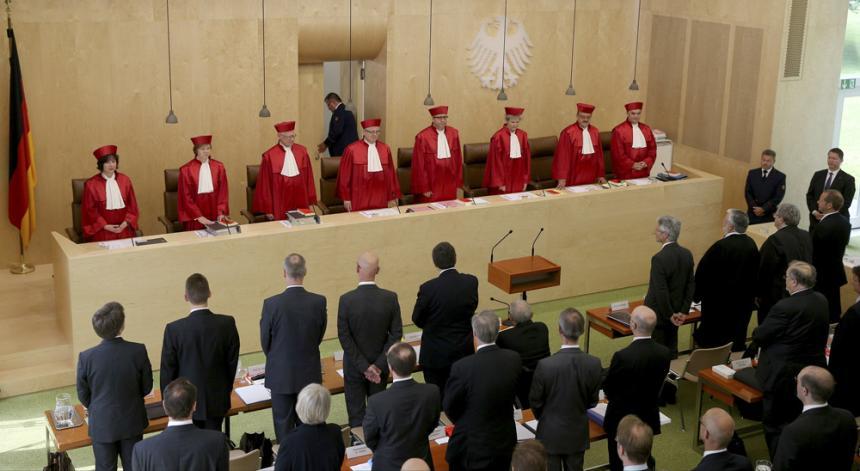 Sessão do Poder Judiciário na Alemanha