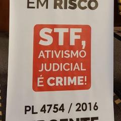 Ativismo judicial é denunciado em evento na Câmara Paulistana