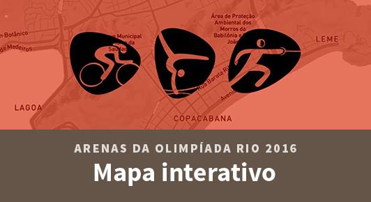 Conheça as arenas da Olimpíada Rio 2016