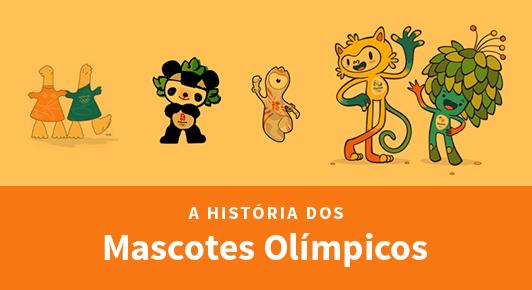 A história dos mascotes olímpicos